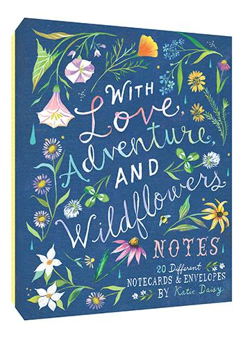 With Love, Adventure, and Wildflowers Notes | Chronicles Book | Notecards