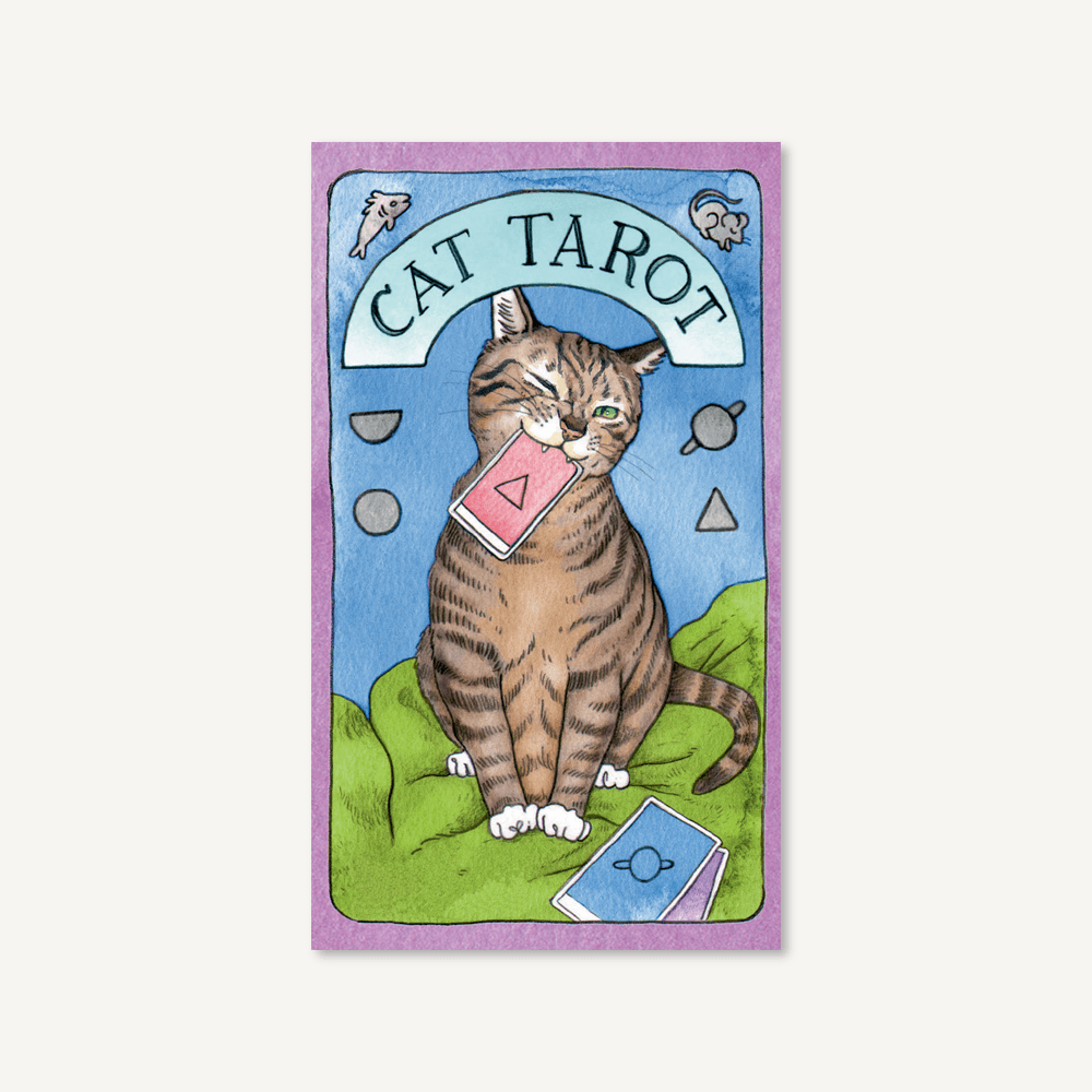 Cat Tarot | Chronicles Book | Guidebook