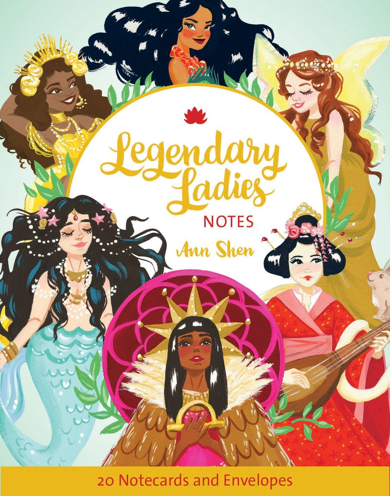 Legendary Ladies Notes | Chronicles Book | Notecards