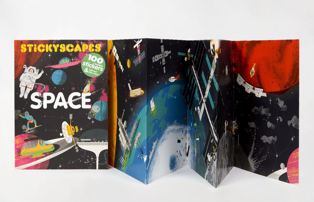 Stickyscapes | Laurence King | Sticker Book