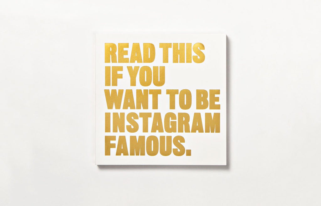 Read this if You Want to Be Instagram Famous  | Laurence King | Self Help Book