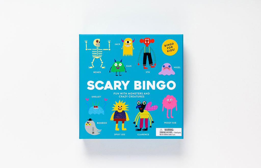 Scary Bingo | Laurence King | Monster Game