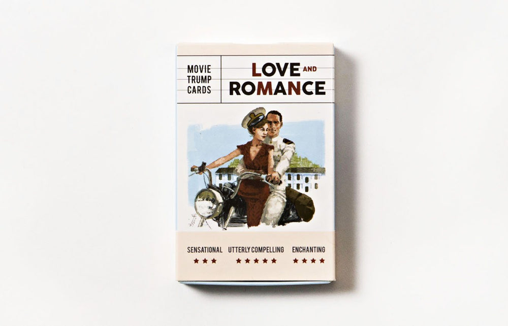 Love and Romance | Laurence King | Movie Trump Cards
