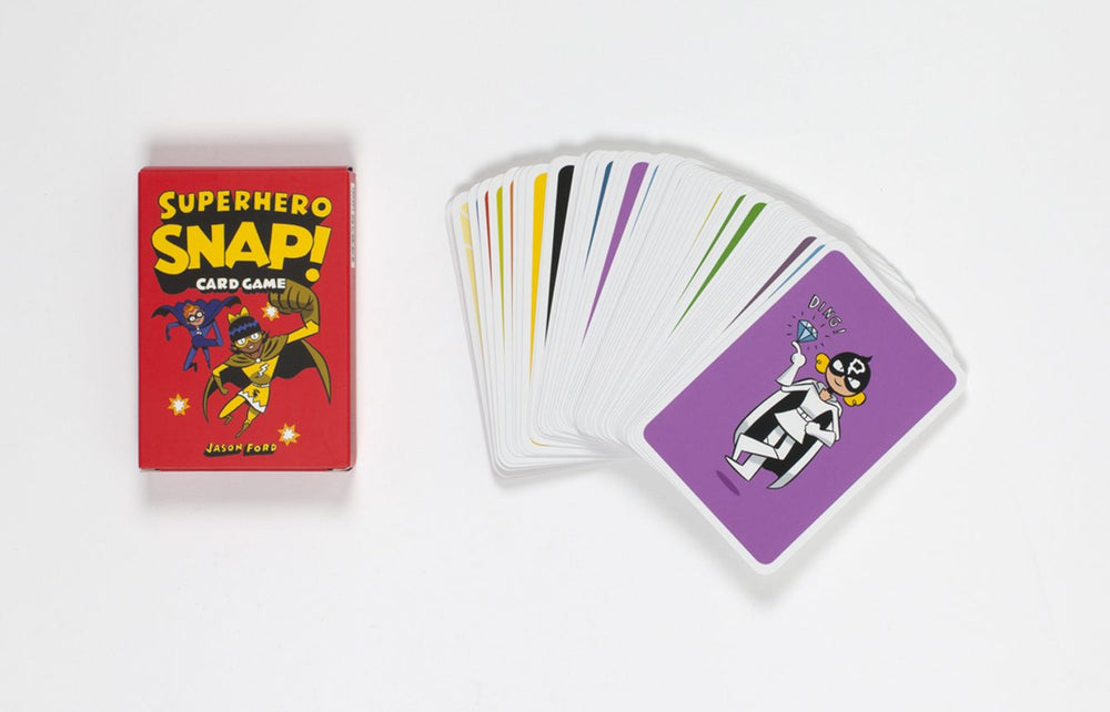 Superhero Snap! | Laurence King | Snap Cards Game