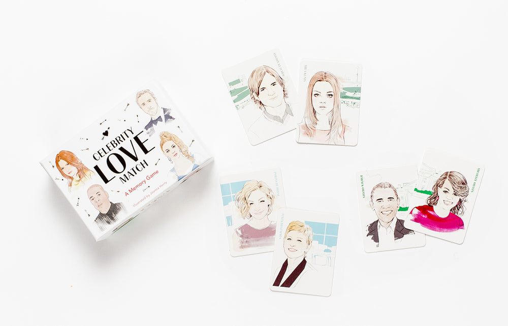 Celebrity Love Match : A Memory Card Game