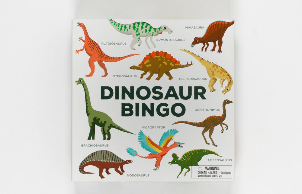 Dinosaur Bingo | Laurence King Publishing | Dinosaur Game
