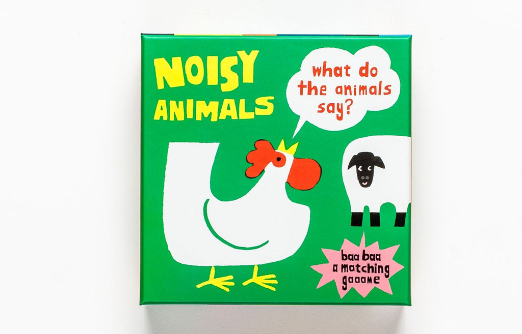 Noisy Animals | Laurence King | Matching & Memory Game