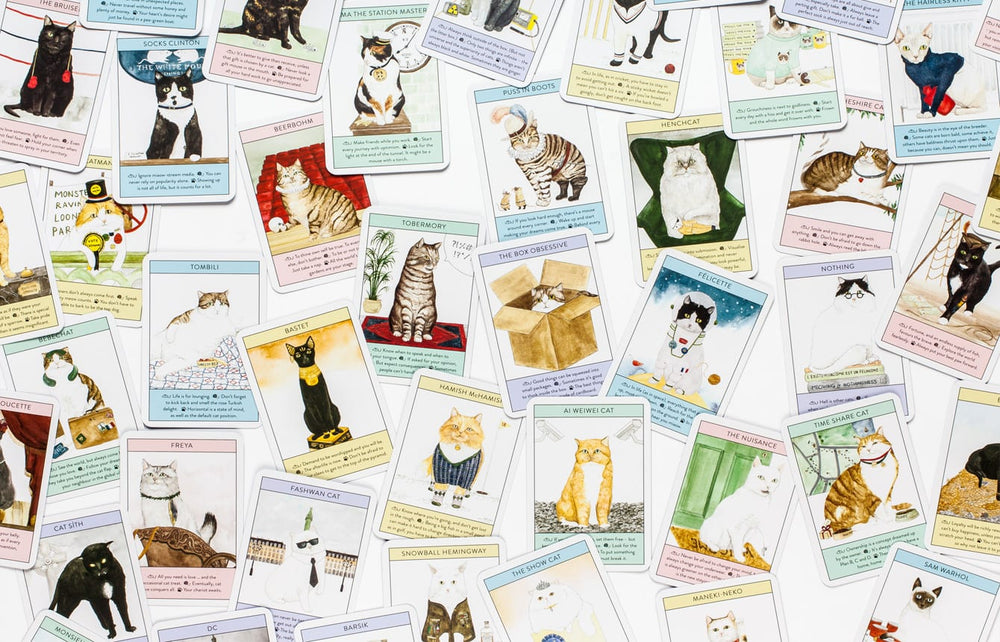Cat Gurus | Laurence King | Inspiration Card Game