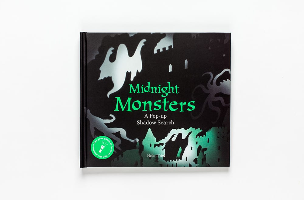 Midnight Monsters | Laurence King | A Pop-up Shadow Search Book