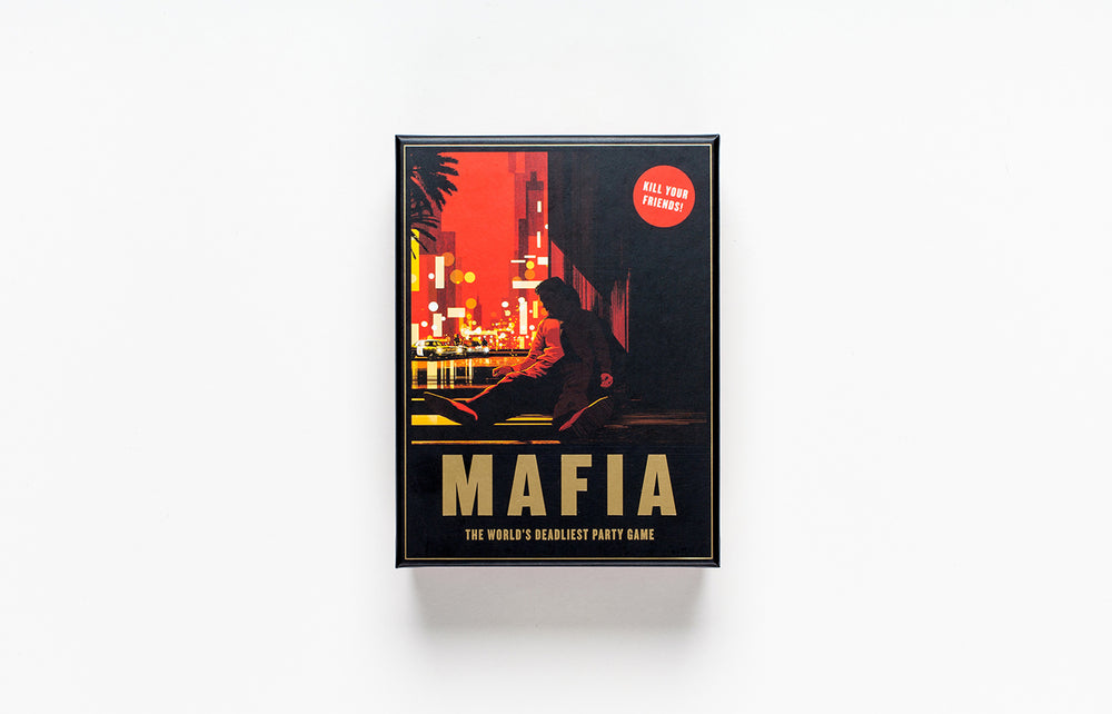Mafia, The World`s Deadliest Party Game | Laurence King | Role-playing strategy game