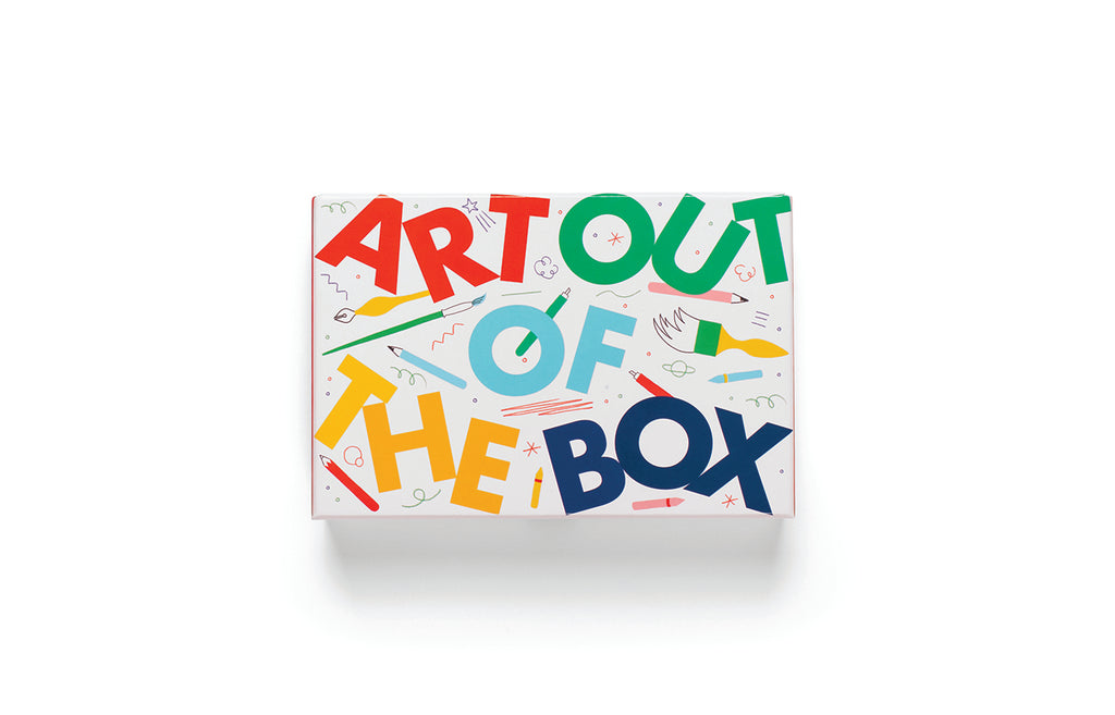 Art Out of the Box | Laurence King | Creativity Games