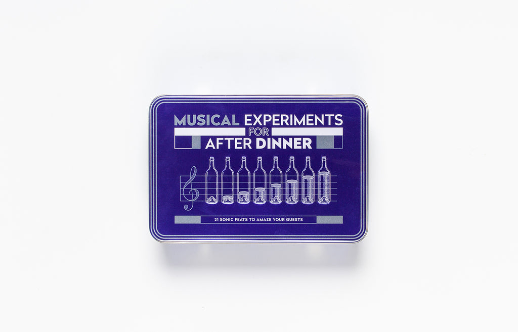 Musical Experiments for After Dinner | Laurence King | Illustrated card