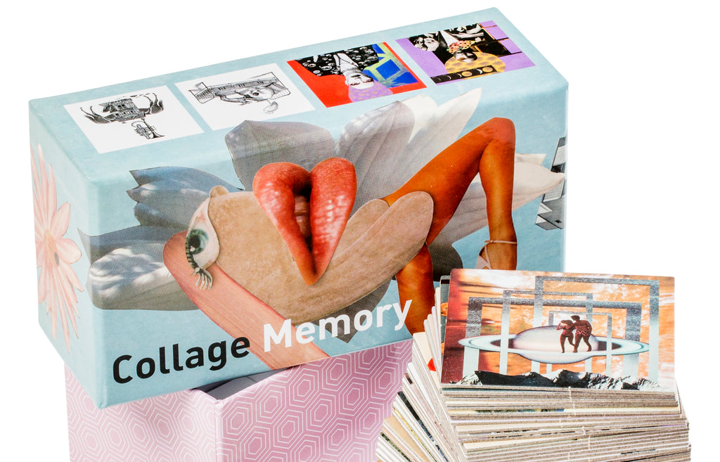 Collage Memory Game | Laurence King