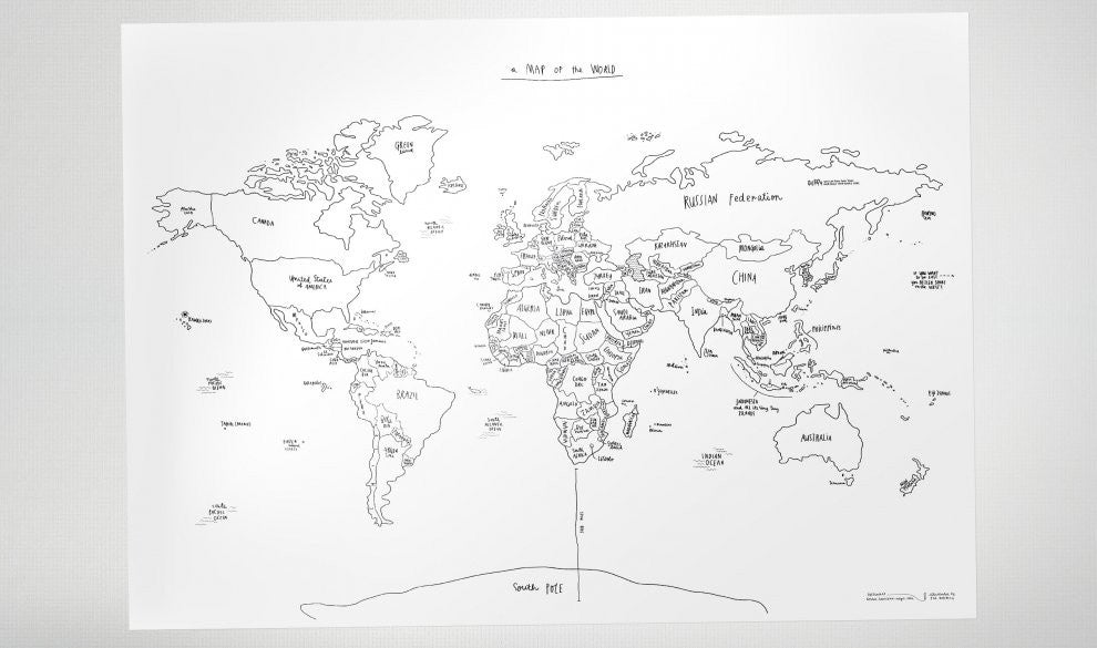 Awesome Map - The Sketch Map