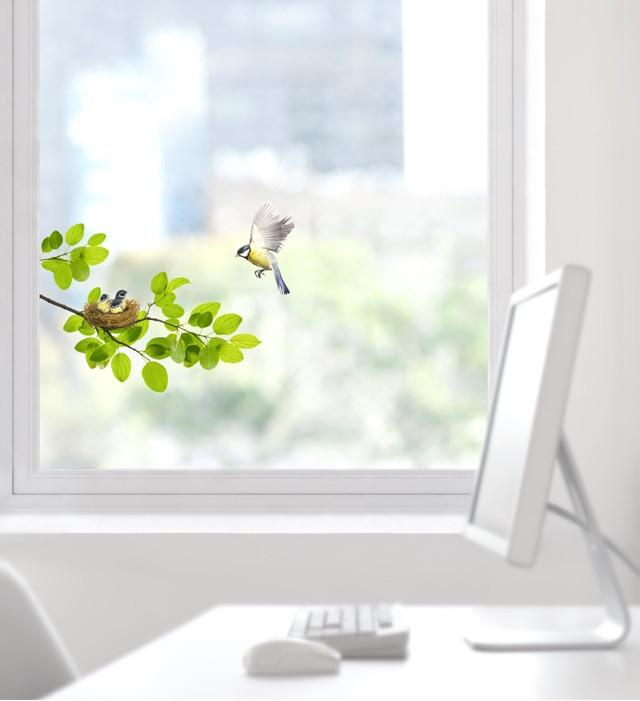 Window View - Bird
