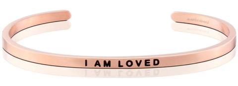 Mantraband Bracelet (Rose Gold)