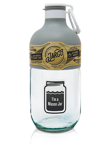 Jargo Bottle | Zing Anything | Mason Jar Bottle | Glass