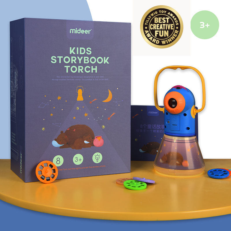 Kids Storybook Torch | Mideer | Storytelling Projector Night Light