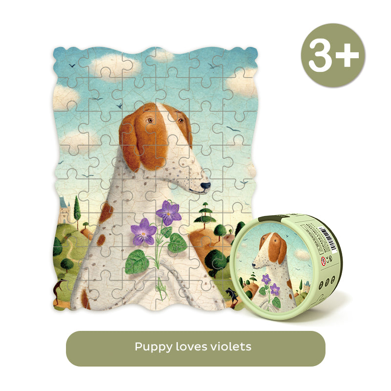 Portraits Puzzle | Mideer | 48 pieces Jigsaw Puzzle | Alison Jay