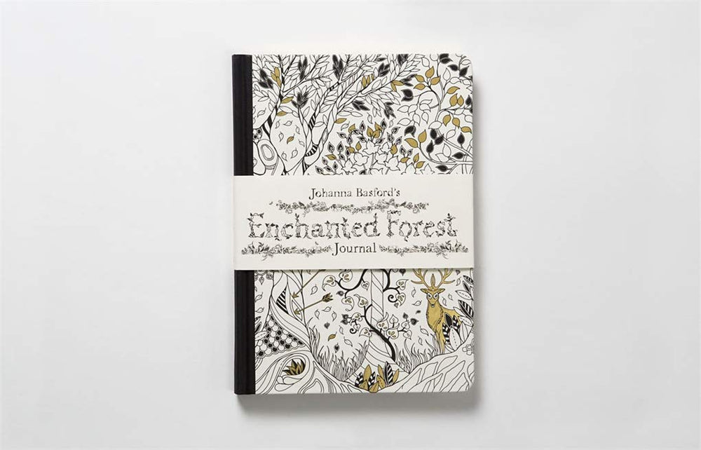Enchanted Forest Journal | Laurence King Publishing | Coloring