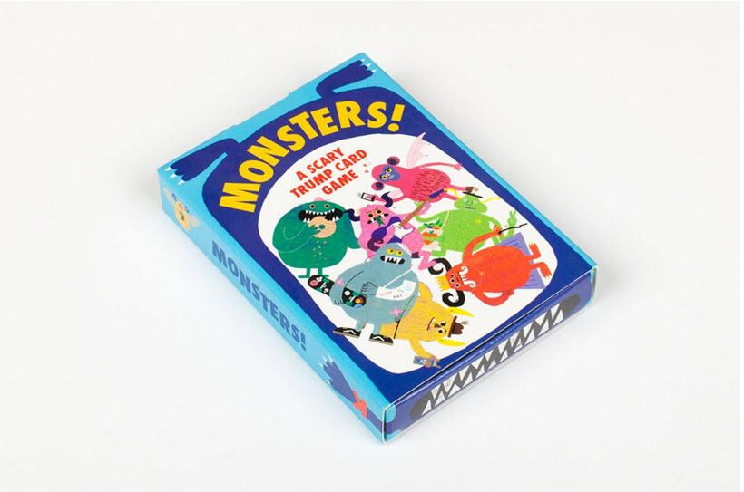 Monsters! | Laurence King | Trump Cards