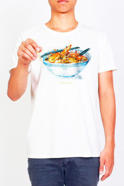 Nomnom Tee-shirts | Singapore Local Food | Designer Tee