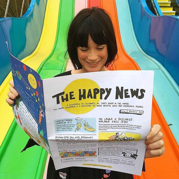 The Happy Newspaper | Emily Coxhead | Positive News