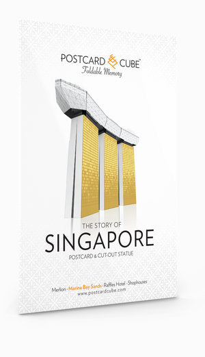 Postcard Cube Singapore collection