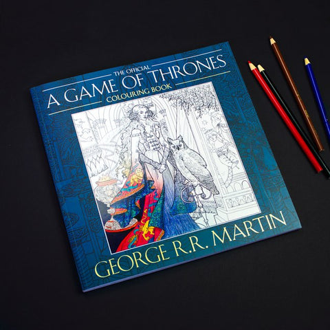 A Game of Thrones Colouring Book