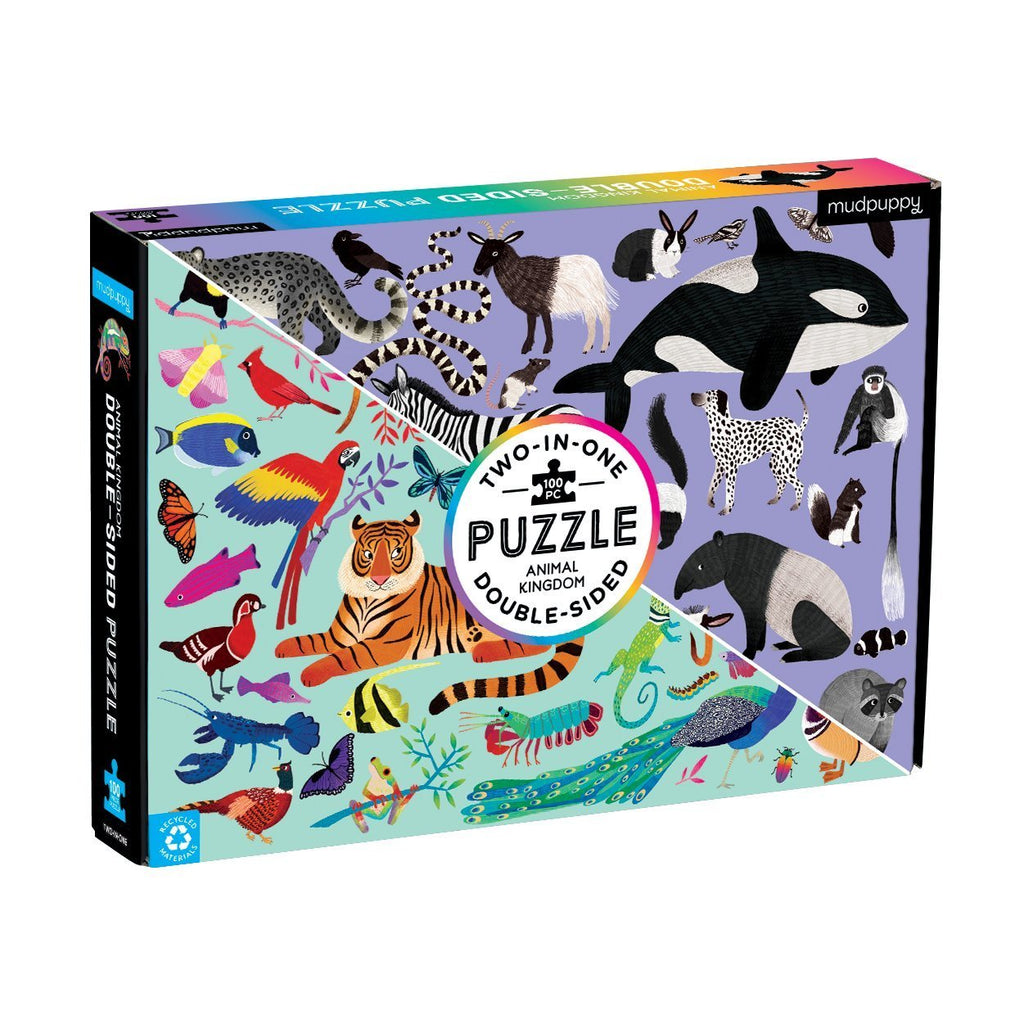 Double Sided Puzzles | Mudpuppy | Jigsaw Puzzles
