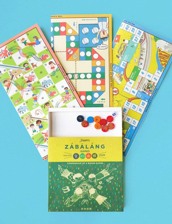Zabalang Board Games (3 in 1)