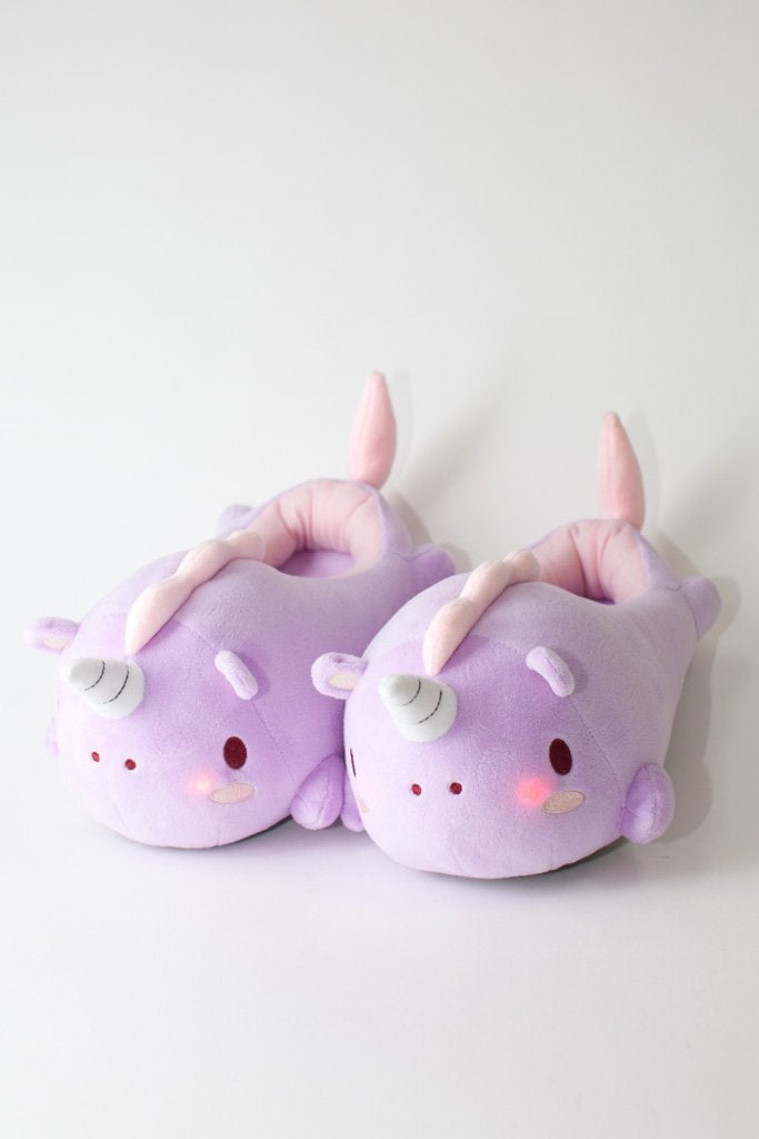 Boon Unicorn Light-up Slippers