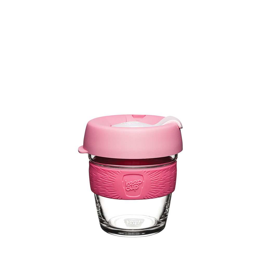 Keepcup Brew SIX (6oz)  | Reusable Cup | Tempered Glass Cup