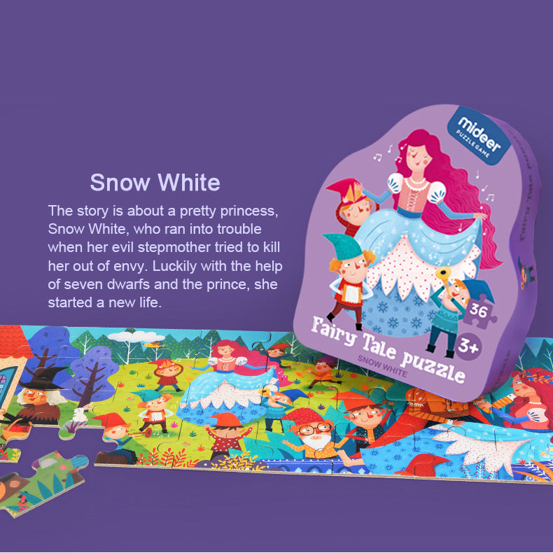 Fairy Tale Puzzle | Mideer | 36 Piece Jigsaw Puzzle