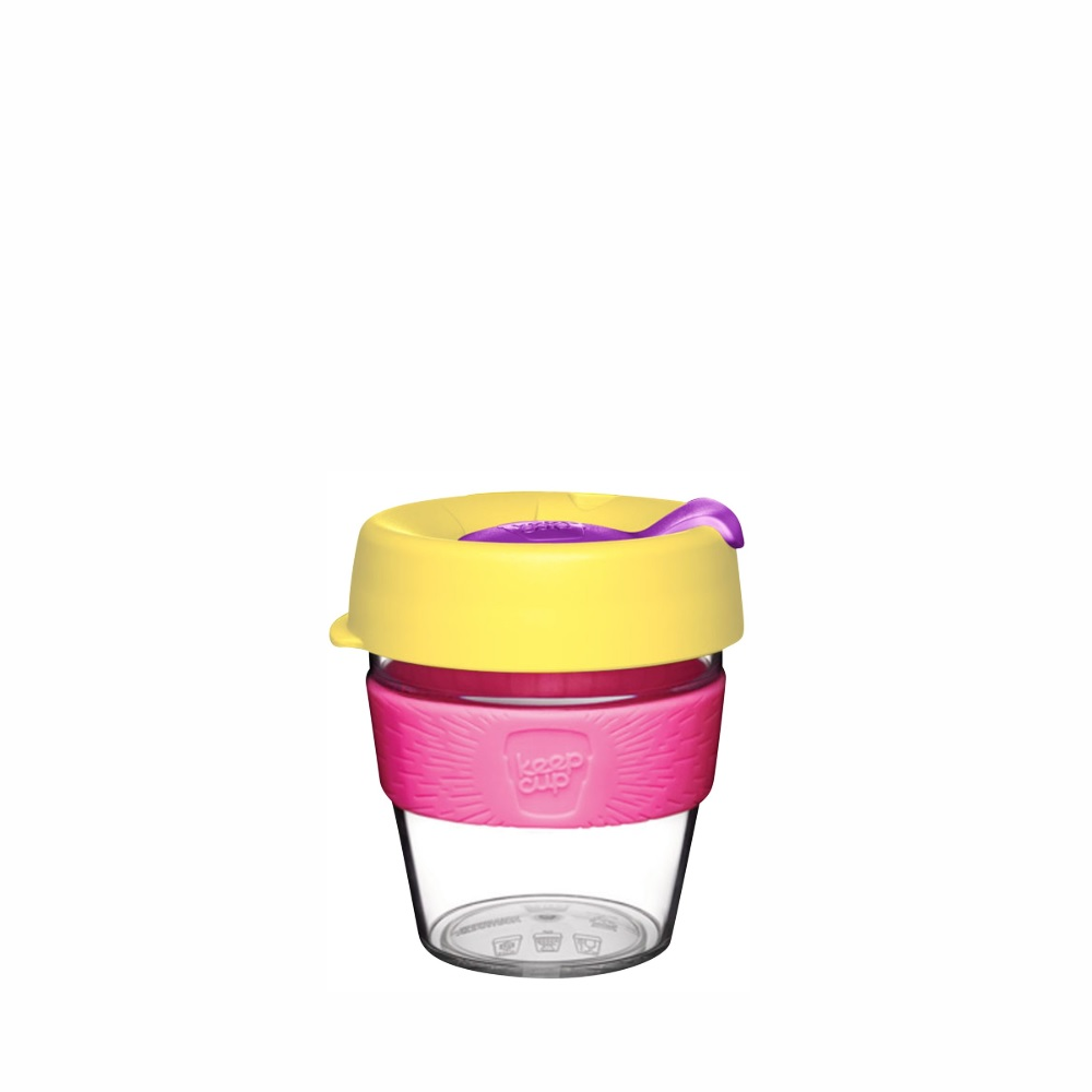 KeepCup-Clear-Edition 8oz  | Reusable Cup | Tritan Clear Plastic
