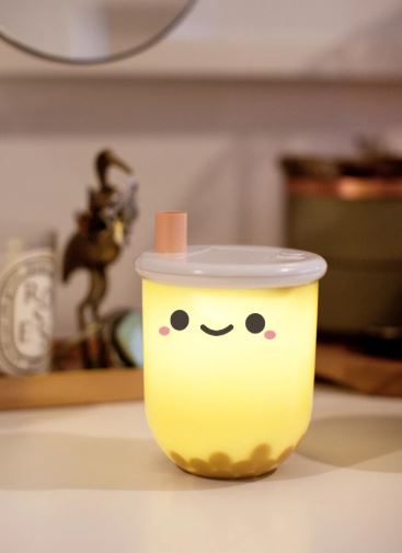 Pearl Boba Milk Tea Ambient Light | Smoko | Night Light
