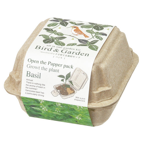 Bird & Garden | Seishin Tougei | Recycled Paper Cultivation Kit