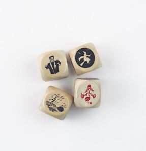 Storytelling Dice Game | Laurence King | DIY Storytelling Game