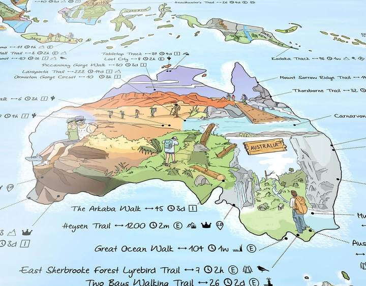 Awesome Maps - Hiking Map