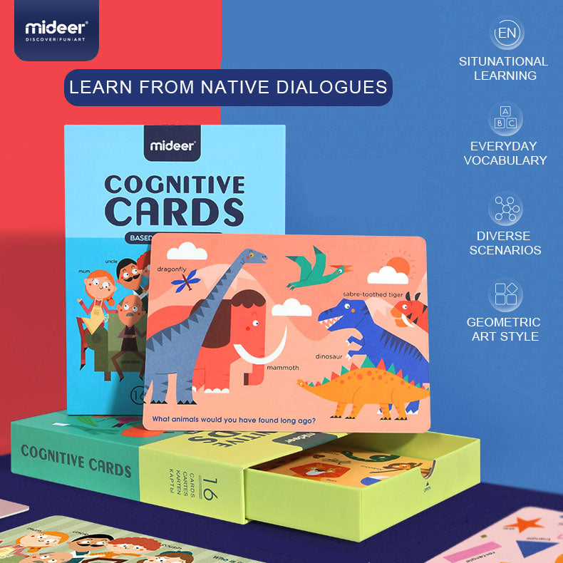 Cognitive Cards | Mideer | Educational Game
