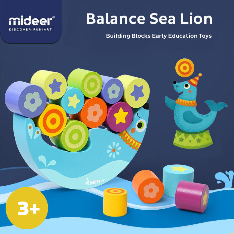 Balance Sea Lion | Mideer | Building Blocks Toy