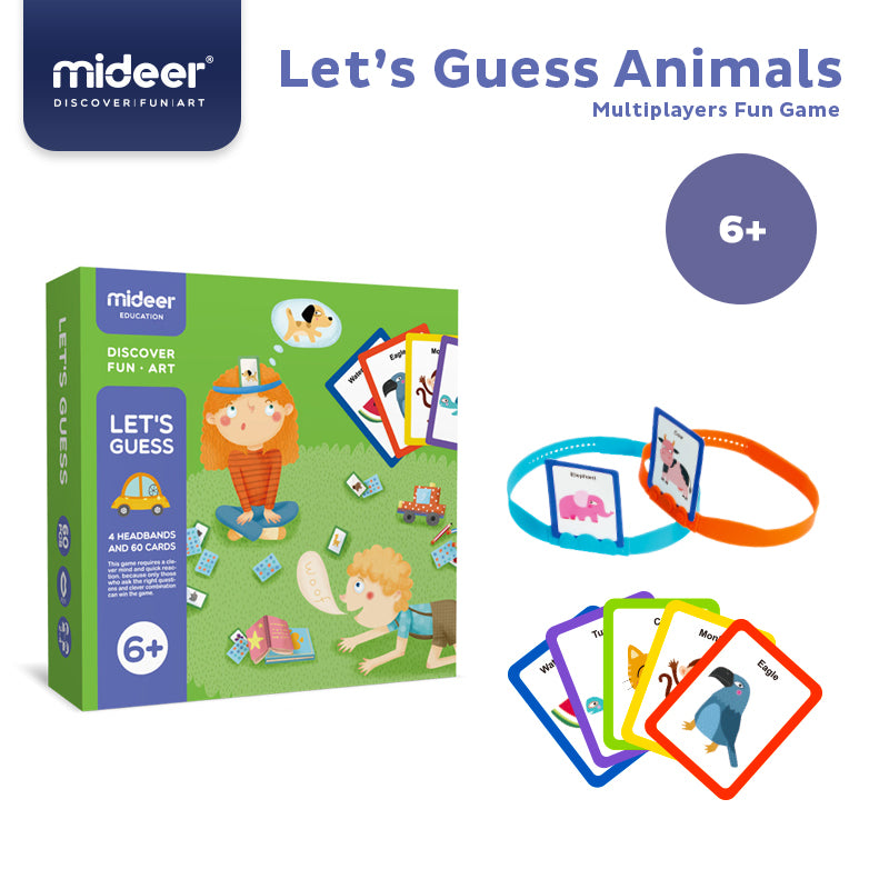 Headbands - Let's Guess | Mideer | Cognitive Multiplayers Game