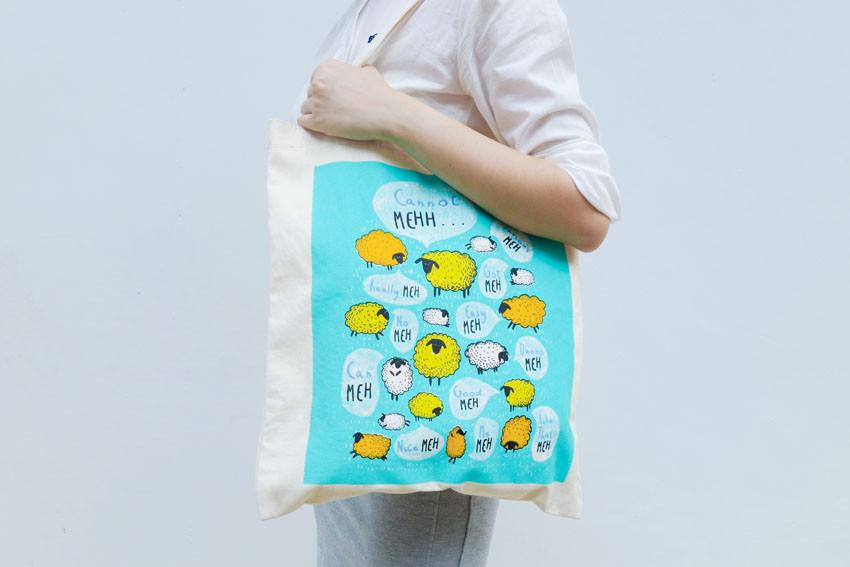 Tote Bag (Silkscreen) | When I Was Four