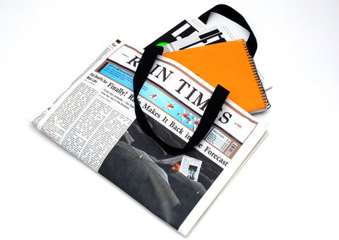 Rain Times Newspaper Bag
