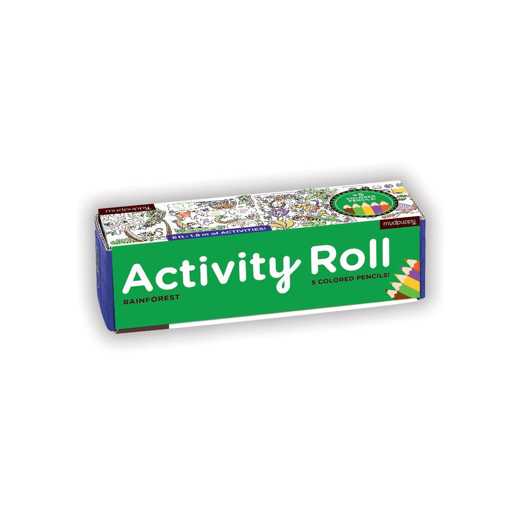 Activity Roll | Mudpuppy | Coloring roll