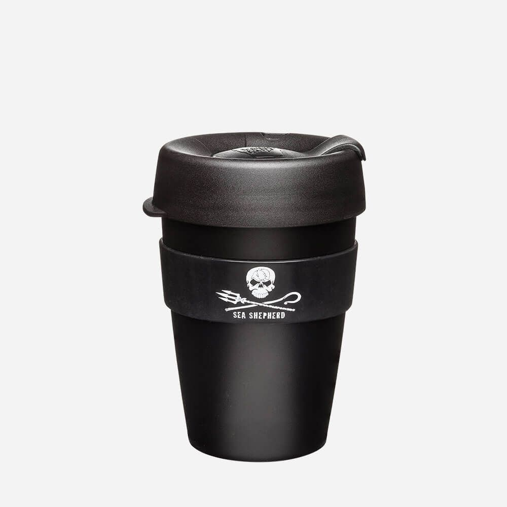 Keepcup x Sea Shepherd Series 12oz | Reusable Coffee Cup