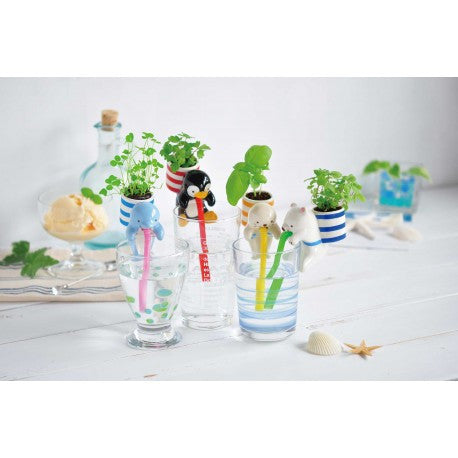 Chuppon Self-Watering Animal Planters