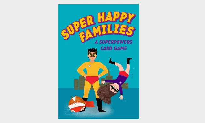 Super Happy Families | Laurence King | Go Fish Game