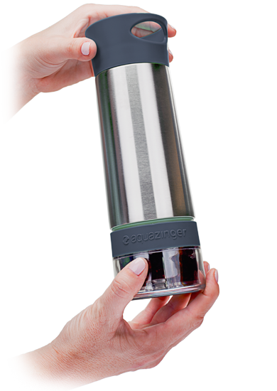 Aqua Zinger | Zing Anything | Infused Water | Stainless Steel Bottle