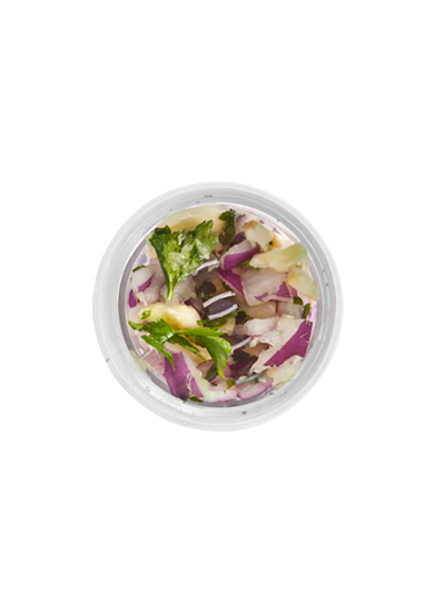 Salad Zinger White | Zing Anything | Dressing Container